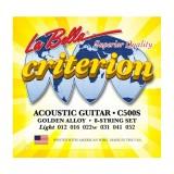 Струни для акустичної гітари La Bella C500S