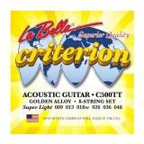 Струни для акустичної гітари La Bella C500TT