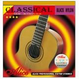 Струны для классической гитары Alice A105BK-H сильного натяжения