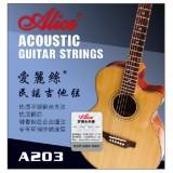 Струны для акустической гитары Alice A203-L легкое натяжение