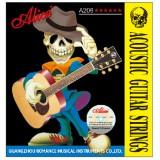 Струны для акустической гитары Alice A206-L легкое натяжение