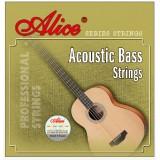 Струны для акустической гитары Acoustic Bass Alice A616(4)-L 4 струны легкое натяжение