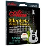 Струны для электрогитары Alice AE530-L легкое натяжение