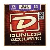 DUNLOP DAB1152 80/20 BRONZE MEDIUM LIGHT (11-52)