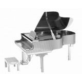 Металлическая 3D модель Фортепиано