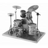 Металлическая 3D модель Барабанная установка